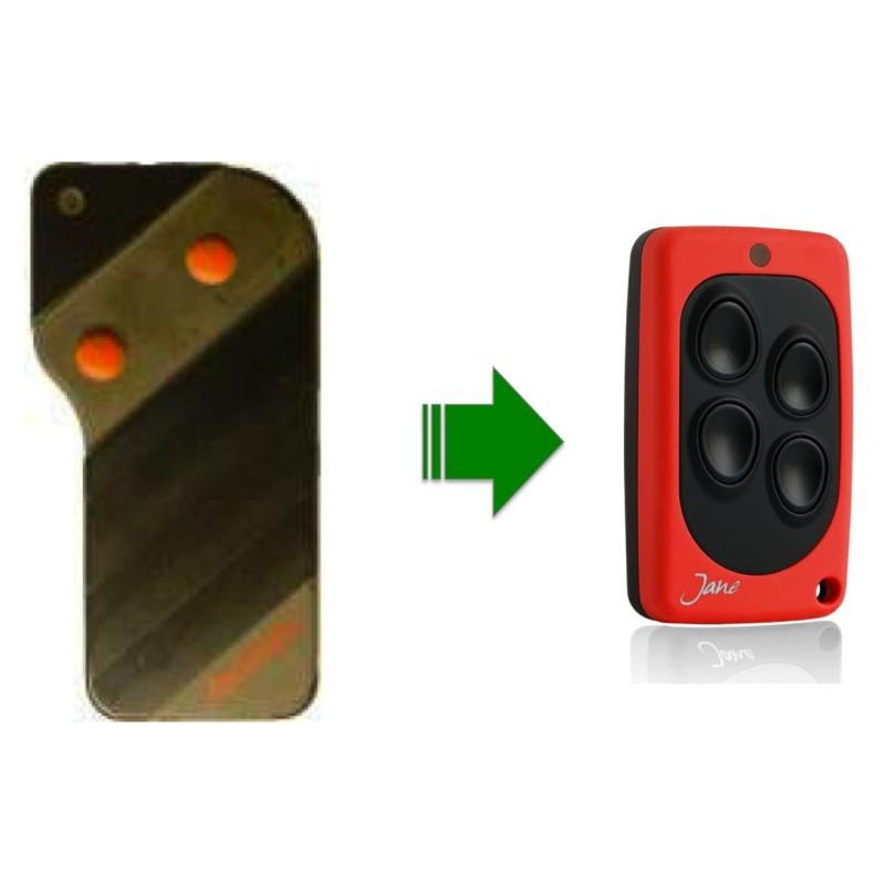 Allmatic telecommande portail universelle - Pile telecommande orange ...