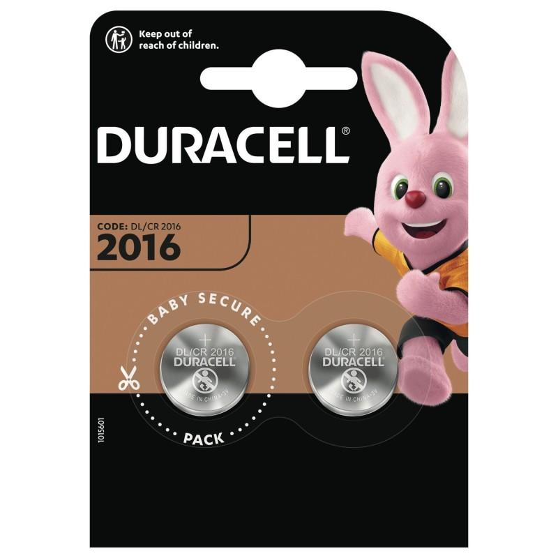 Piles DURACELL CR2016 par 2