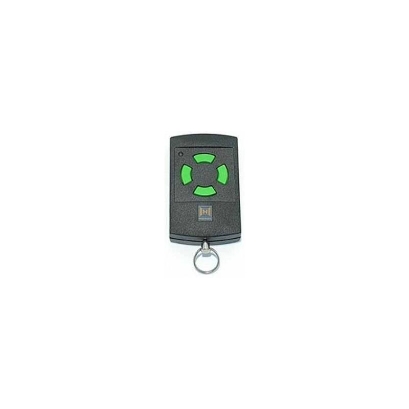 Telecommande porte de garage hormann hsm4 vert 27015 for Telecommande portail garage