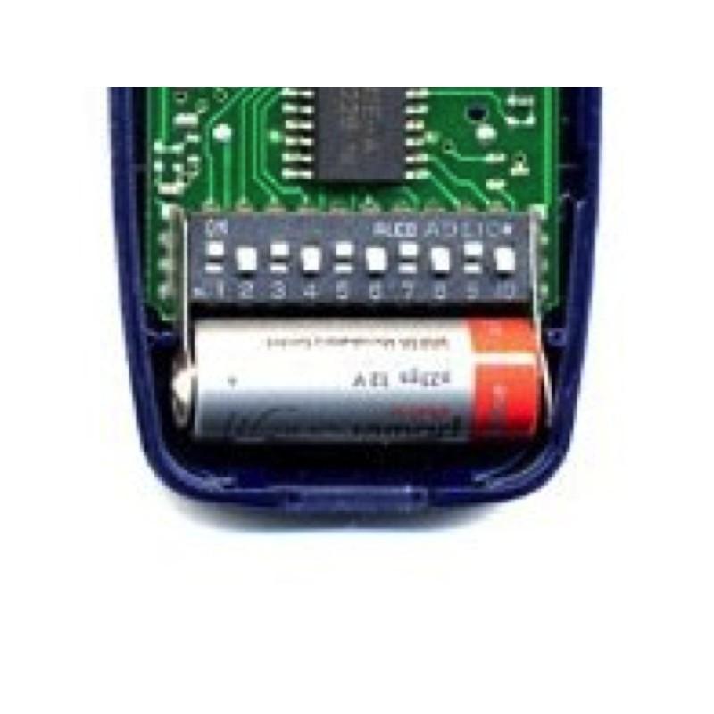 Programmation de la télécommande NICE FLO2