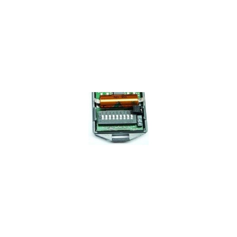 Programmation de la télécommande CARDIN S466 TX2